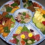 お正月 皿鉢1